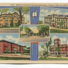 Some of the Main College Buildings Agriculture College Fargo North Dakota Postcard