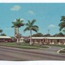 Cane Court Motel Clewiston Florida Postcard