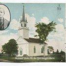 Rev Elijah Kelloggs Church Harpswell Center Maine Postcard