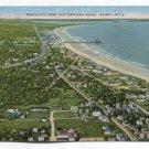 Birds Eye View Old Orchard Beach Maine Postcard