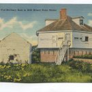 Ruins of Old Fort McClary Built in 1630 Kittery Point Maine Postcard