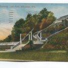 Stairway Lake Park Milwaukee Wisconsin Postcard