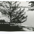 Scene at Breezy Point Resort Howard Lake Minnesota Postcard