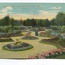 French Garden Como Park St Paul Minnesota Postcard