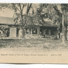Old Van Wagoner House at Foot of Gregory Avenue Passaic New Jersey Postcard