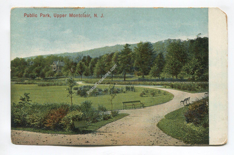 Public Park Upper Montclair New Jersey Postcard