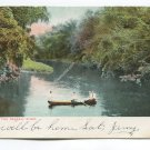 Boating on the Passaic River New Jersey Postcard