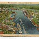 Turning Basin Buffalo River Houston Texas Postcard