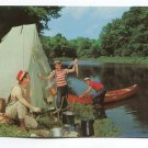 Fishing and camping on the streams of Central Texas Postcard