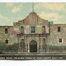 The Alamo Cradle of Texas Liberty San Antonio Texas Postcard