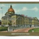State House Boston Massachusetts Postcard