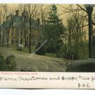 Green Hill Mansion Worcester Massachusetts Postcard
