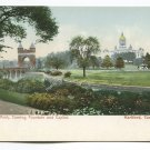 Memorial Arch Corning Fountain and Capitol Hartford Connecticut Postcard