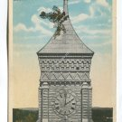 Lone Maple on Court Tower Greenburg Indiana Postcard