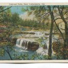 Cataract Falls Near Indianapolis Indiana Postcard