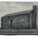 Herndon Brothers Residence New Salem State Park Lincolns New Salem Illinois Postcard