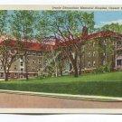 Jennie Edmundson Memorial Hospital Council Bluffs Iowa Postcard