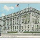 United States Court House Des Moines Iowa Postcard