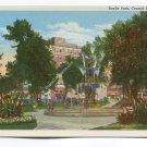 Baylis Park Council Bluffs Iowa Postcard