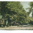 Union Street looking east from Franklin Street Manchester Iowa Postcard