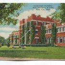 Quadrangle Dormitory State University of Iowa iowa City Iowa Postcard