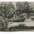 Terraced Gardens Our Lady of Angels Academy Clinton Iowa Postcard