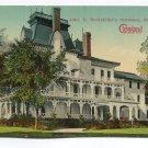 John D Rockefellers residence Forest Hill Ohio Postcard