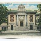 Public Library Marion Ohio Postcard