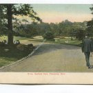 Drive Garfield Park Cleveland Ohio Postcard
