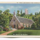 Forest Lawn Memorial Park Glendale California Postcard