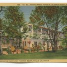 Will Rogers Ranch House in Santa Monica Mountains California Postcard