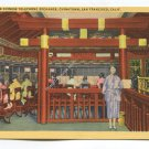 Interior Chinese Telephone Exchange Chinatown San Francisco California Postcard