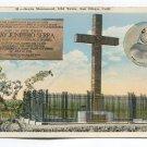 Sierra Monument Old Town San Diego California Postcard
