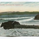 Golden Gate from Cliff House San Francisco California Postcard