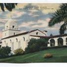 Junipero Serra Museum Old Town San Diego California Postcard