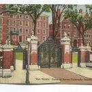 Van Wickle Gates of Brown University Providence Rhode Island Postcard