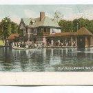 Boat House Williams Park Providence Rhode Island Postcard