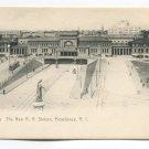 New R R Station Providence Rhode Island Postcard