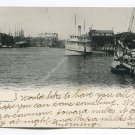 River Front Providence Rhode Island Postcard