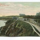 Cliff Walk and Stone Arch Newport Rhode Island Postcard