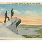Mid-Winter at Blowing Rock Western North Carolina Postcard