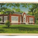 Carl Augustus Rudisill Library Rhyne College Hickory North Carolina Postcard