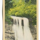 Silver Run Falls in the Highlands Section Western North Carolina Postcard