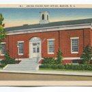 United States Post Office Marion North Carolina Postcard