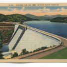 Hiwassee Dam and Lake Western North Carolina Postcard