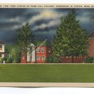 Night-Time View from Campus of Mars Hill College Mars Hill North Carolina Postcard