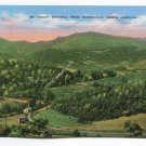 Mount Mitchell from Burnsville North Carolina Postcard