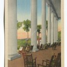 On the Front Veranda Robert E Lee Hall Blue Ridge Assembly Blue Ridge North Carolina Postcard