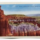 Temple of Osiris Bryce Canyon Southern Utah Postcard