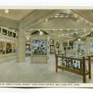 Corner of Agricultural Exhibit Utah State Capitol Salt Lake City Utah Postcard